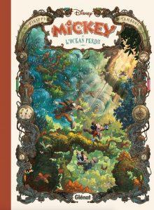 Mickey et l'océan perdu - Cover